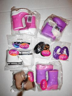 "My Life As Doll Shoe Boot Sunglasses Lot of 7 Fits American Girl 18"" Dolls  #MyLifeAs"