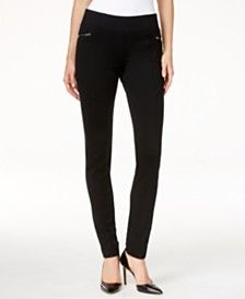 INC International Concepts Curvy Pull-On Skinny Pants, Only at Macy's