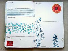 Jenny's Sketchbook: October Pages