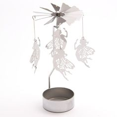 Add magic and light to your home with these lovely tealight spinners.