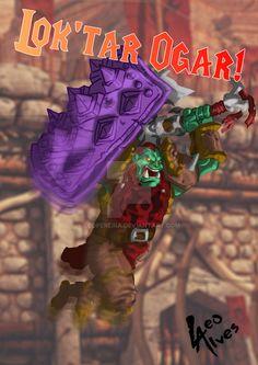 """O Desafio 2Minds (grupo no face) nos desafiou a desenhar nosso personagem de MMORPG e eu escolhi Azogh, o Paciênte, meu Orc Guerreiro Defensor de Wolrd of Warcraft (coitado, está a anos sem agir e vai continuar por um longo tempo ainda - ou pra sempre).   The """"Desafio 2Minds"""" (group on facebook) challenged us to draw our character MMORPG and I chose Azogh, patient, my Orc Warrior Tank Wolrd of Warcraft (pity, is years without acting and will continue for a long time yet - or forever)."""
