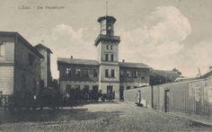 Libau. Die Feuerturm. 1903 postcard.