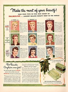 1941 Palmolive Beauty Soap Original Print Ad Large Single Ad - Between 10 x 13 to 11 x 14 inches, suitable for framing. Retro Ads, Vintage Advertisements, Vintage Ads, Vintage Prints, Vintage Glamour, Vintage Beauty, Colgate Palmolive, Funny Ads, Beauty Soap