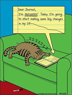 Cat's journal by Scott Metzger. :) - (from; The Cat House On The Kings.com on facebook)