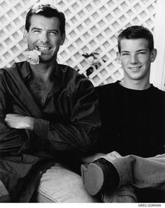 Pierce Brosnan and son, Sean Brosnan