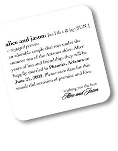 Romance by numbers savethedate savethedate Invitations