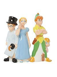 HOTTOPIC.COM - Disney Peter Pan Group Magnetic Salt & Pepper Shaker Set