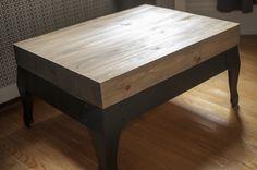Rejuvenated Woodstove Coffee Table