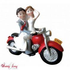 Comic Tortenfigur für Motorrad Fans Comic, Marie, Wedding Cakes, Motorcycle, Vehicles, Top, Newlyweds, Wedding Cake, Photo Illustration