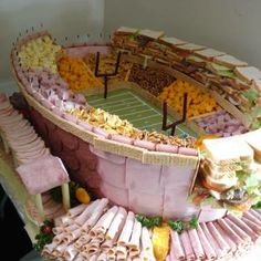 48 Epic Super Bowl Food Displays for Superbowl XLVIII