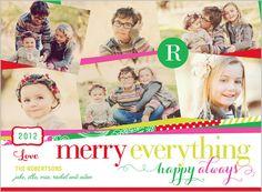 Happy Always Monogram 6x8 Stationery Card by Vanilla Print   Shutterfly