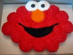Elmo cupcake cake