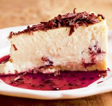 Nigel Slater's Christmas dessert recipes   Life and style   The Observer  Morello Cherry Cheesecake - remember this one for Christmas lunch!