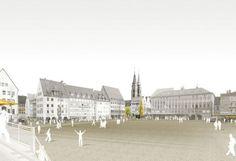 1. Preis Hauptmarkt (Realisierungsteil): Schegk Landschaftsarchitekten BDLA Stadtplaner, Haimhausen  Nürnberg