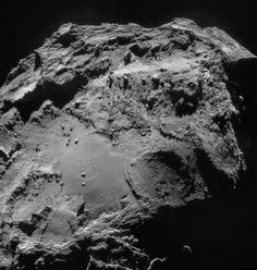 ESA Science & Technology: Comet 67P/C-G on 14 December 2014 - NavCam mosaic