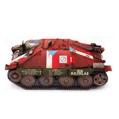 "Armored Car Tank Military Model 1/35 ""Jagdpanzer 38 Hetzer"" Prague1945 #13277"