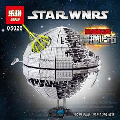 167.00$  Watch here - http://aligmk.worldwells.pw/go.php?t=32779012652 - NEW LEPIN 05026 Star Wars Death Star The second generation 3449pcs Building Block Bricks Toys Compatible 10143 Gifts 167.00$