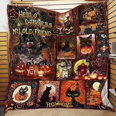 MP2309 - Love - To My Daughter - Quilt – Everyday Trendz Heated Blanket, Cooling Blanket, Halloween Quilts, Halloween Cat, 3d Quilts, Quilting, Happy Birthday Jesus, Quilts For Sale, Kona Cotton