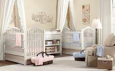 A Nursery for Twins - Corner Stork Baby Blog : Corner Stork Baby Blog