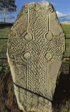 Aberdeenshire Council - Kinord Cross Pictish Symbol Stone