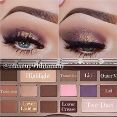 .@makeupwithtammy | ✨Color Placement and Written Tutorial✨ using the @Too Faced Cosmetics Chocolate Bar pale... | Webstagram