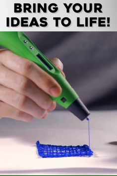 🎨 Let the creativity flow! This 3D Pen Creates Unique Sculptures. 🎨 🖊️Now You Can turn your awesome ideas into reality by 3D Printing WHATEVER You Draw!!! 🖊️
