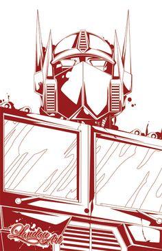 Optimus Prime - Transformers - Landon Armstrong