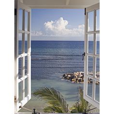 Found it at Wayfair.co.uk - Window to Paradise by Katja Sucker Photographic Print on Canvas
