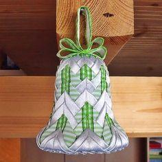 Falešný patchwork - zvoneček, návod