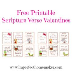 free children's valentine cards