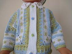 Детская кофточка Часть 1 Children's zip jacket Crochet Part 1 - YouTube