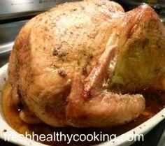 Tender and Juicy Slow Roasted Turkey