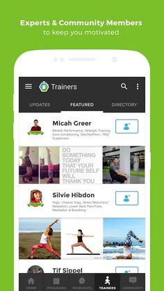 Workout Trainer fitness coach- screenshot