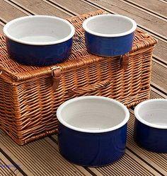 Handmade Pottery Dog Bowl - food, feeding & treats