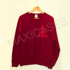 I feel Like Pablo Sweatshirt Sweater Unisex Adults size S to 2XL