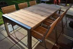 Image result for steel garden chairs