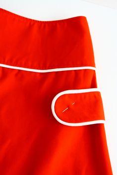 retro rokje  volgens patroon van madame zsazsa