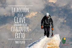 """""""La Acción es la Clave fundamental de cualquier Éxito"""". Pablo Picasso #cucuta #frasemotivadora"""