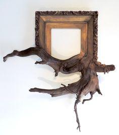 O artista Darryl Cox une matéria-prima e arte final de forma deslumbrante.