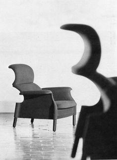 Sanluca, Achille e / and Pier Giacomo Castiglioni, Gavina, Knoll, Bernini, Poltrona Frau, 1960, 1969, 1990, 2004, courtesy Casa Irma Barni Castiglioni #castiglioni #design #armchair #sanluca
