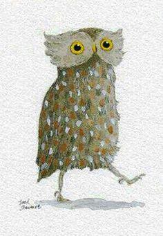 owl by Joel Stewert