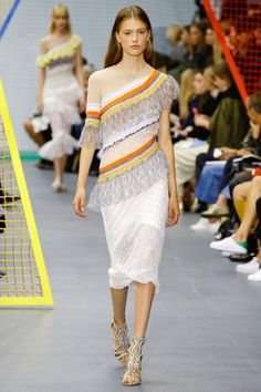 26 of the best runway looks from London fashion week spring/summer '16: Peter Pilotto