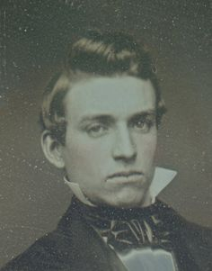 Antique Fine American Daguerreotype RARE Silver Case Handsome Young Man Photo | eBay