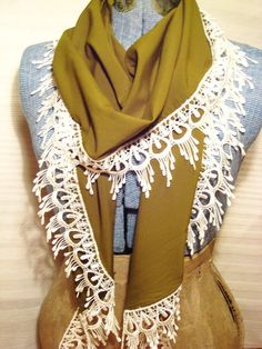 My friend, Rose, made this for me. I love this gorgeous scarf!! You can purchase one at her Etsy shop- Eliza & Ro- check it out :)