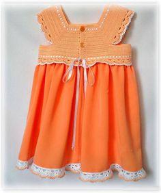 kız çocuğu örgü elbise