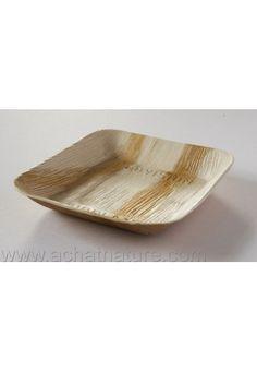 assiettes - palmier -biodegradable - compostable