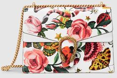 Shop Gucci Bags, Shoes and Accessories in an Exclusive Floral Print via Gucci.com