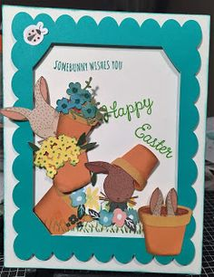 Corinna's Crafts: February Stamp of the Month #ctmheasterbunny