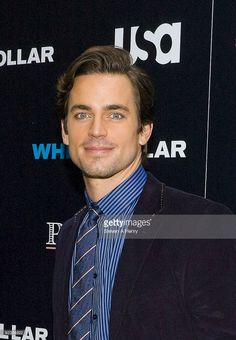 Actor Matt Bomer visits the White Collar Shirt Bar at The Channel Gardens at Rockefeller Center on October 23, 2009 in New York City.