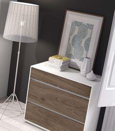 muebles chapa natural dormitorio Mesegue